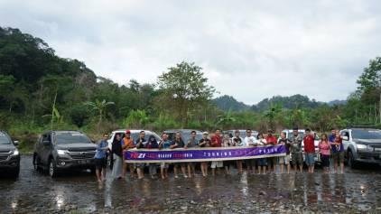 Komunitas Trailblazer Indonesia menempuh ribuan kilometer ke Banyuwangi. (foto: ist)