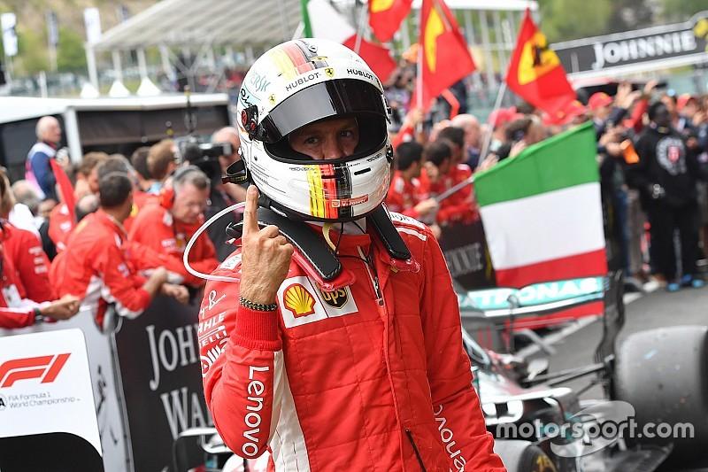 Menang di Belgia, Vettel pangkas jarak dari Hamilton di klasemen sementara F1 (foto: motorsport)