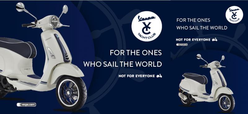 Edisi khusus Vespa Primavera Yacht Club resmi diperkenalkan