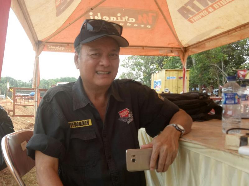Tjahyadi Gunawan, Open Championship tidak perebutkan hadiah mobil truk Hino. (foto : BS)