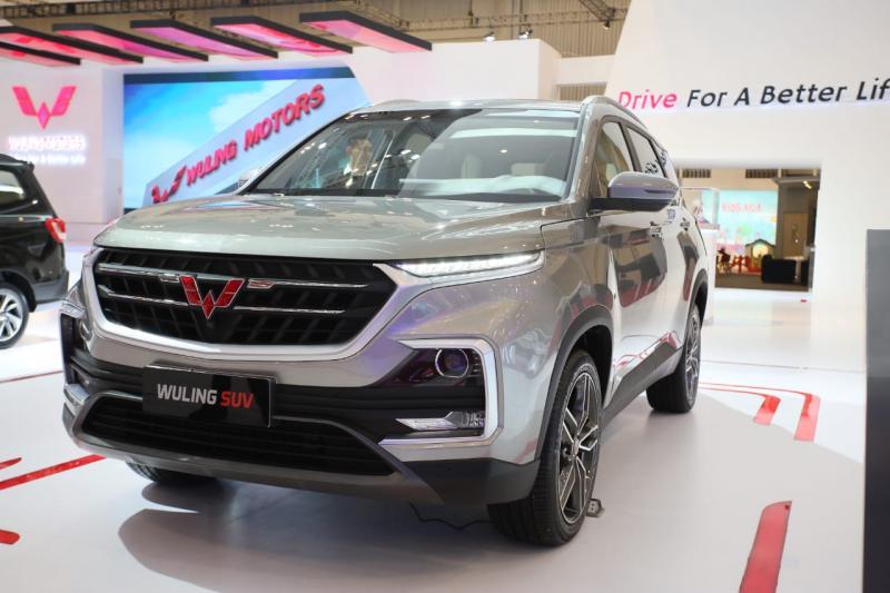 Wuling SUV Baojun 530 diperkenalkan di GIIAS 2018. (foto: Felix)