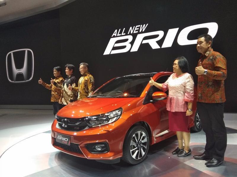 All New Honda Brio diluncurkan perdana di ajang GIIAS 2018 awal Agustus lalu. (foto: anto)