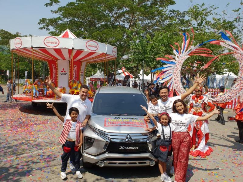 XPANDER Tons of Real Happiness akan mampir ke kota Makassar. (foto: Mitsubishi)