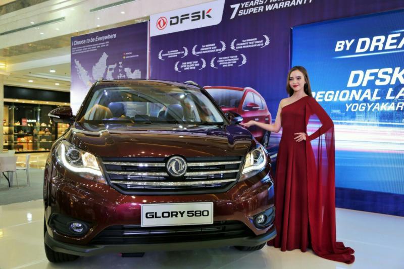 SUV DFSK Glory 580 terjual Rp 11 Juta di program sale 11.11 DFSK