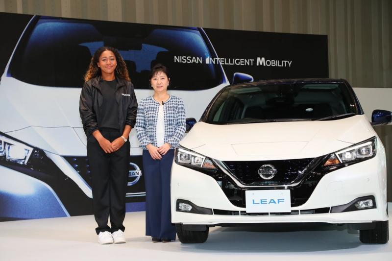 Naomi Osaka jadi brand ambassador Nissan