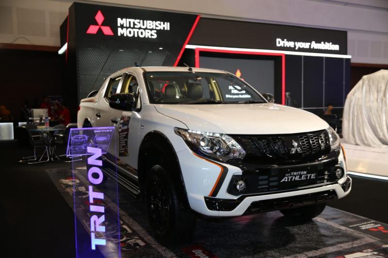 Mitsubishi Triton Athlete jadi favorit di kalangan pehobi. (foto: ist)