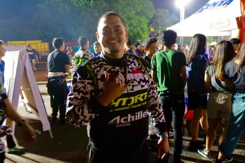 Reindy Riupassa bawa HTJRT berjaya di Auto Gymkhana Cianjur