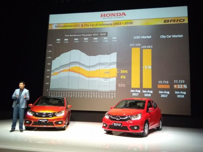 Jonfis Fandy, mobil listrik bukan barang baru buat Honda. (foto: anto)