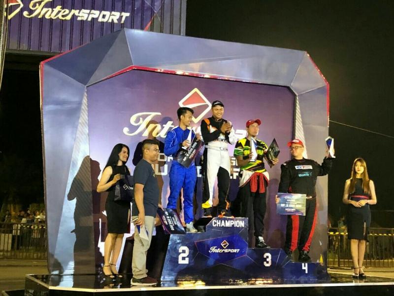Adwidya Amandio kembali juarai Intersport World Stage Qualifier Battle Drift Championship 2018. (foto : budsan)