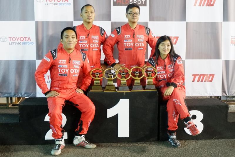 Toyota Team Indonesia (TTI) panen trophy di Auto Gymkhana 2018 seri 4 Cianjur
