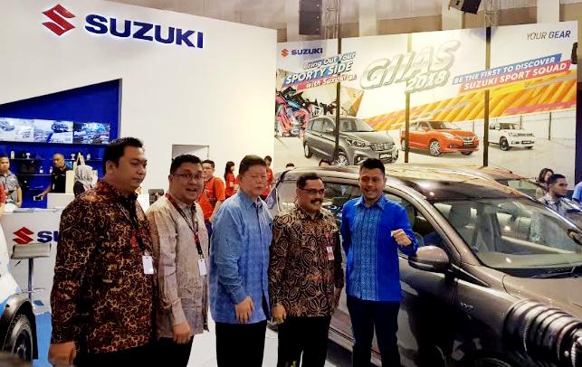 Suzuki bawa empat model unggulan di GIIAS 2018 Surabaya, minus Jimny. (foto: Emir)