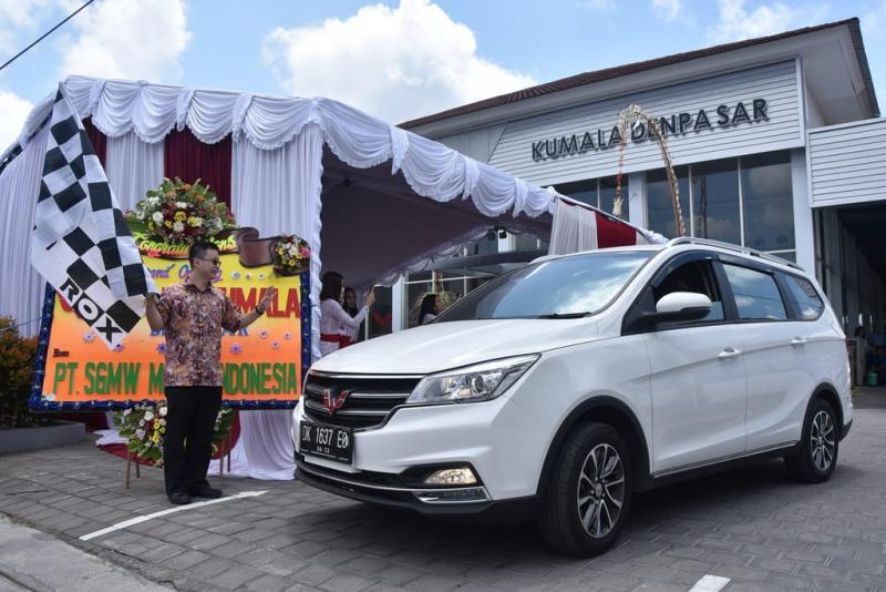 Bali dianggap penting bagi Wuling karena potensi permintaan dari sektor pariwisata. (foto: Felix)