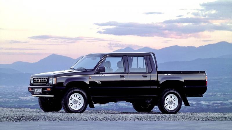 Generasi kedua pikap Mitsubishi telah diluncurkan sejak 1986 silam. (foto: Mitsubishi)