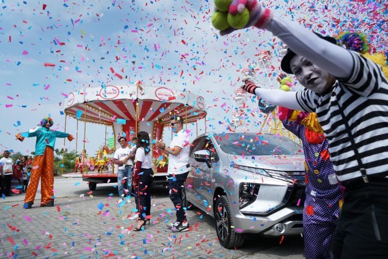 Kebahagiaan Xpander Tons of Real Happiness akan singgah di kota Medan. (foto: MMKSI)