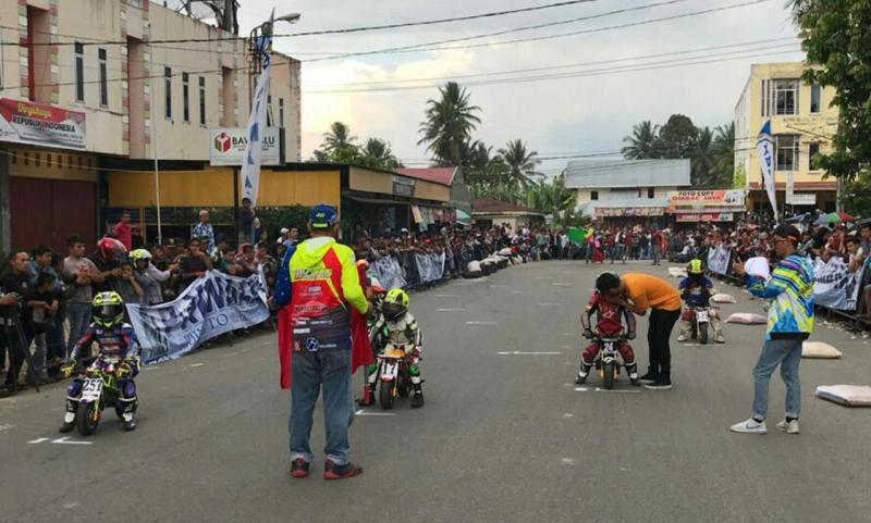 MiniGP di road race Payakumbuh, Sumbar (foto: Bomba)