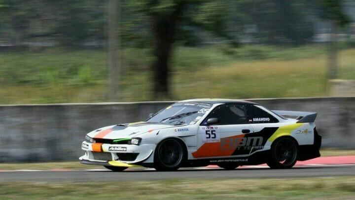 Nissan Silvia S14 andalan ABM Racing Team di ISSOM yang digeber Amandio. (foto : edy)