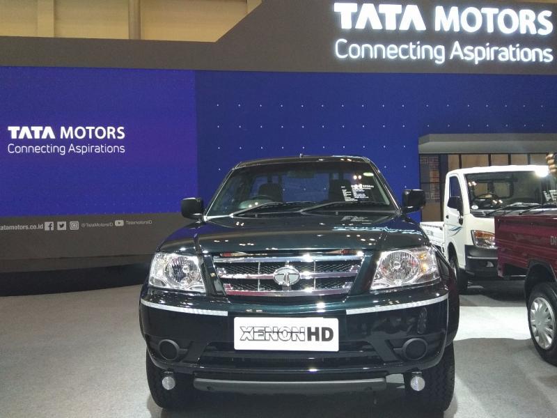 Konsistensi dan eksistensi Tata Motors di segmen kendaraan komersial membuahkan prestasi. (foto: anto)