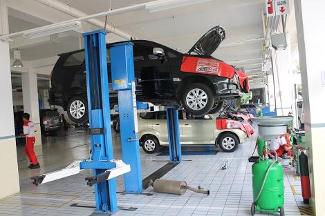 Sparepart orisinal dapat jaminan berkualitas dari Toyota. (foto: Auto2000)