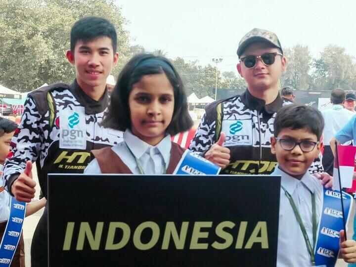 Adrian Septianto dan Herdiko Setyaputra, kemenangan untuk penghiburan korban tsunami Palu dan Donggala. (foto : ist)