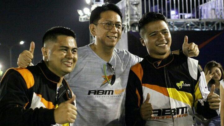Amandio, Paul dan Valentino, strategi tim ABM Drift Team. (foto : budsan)