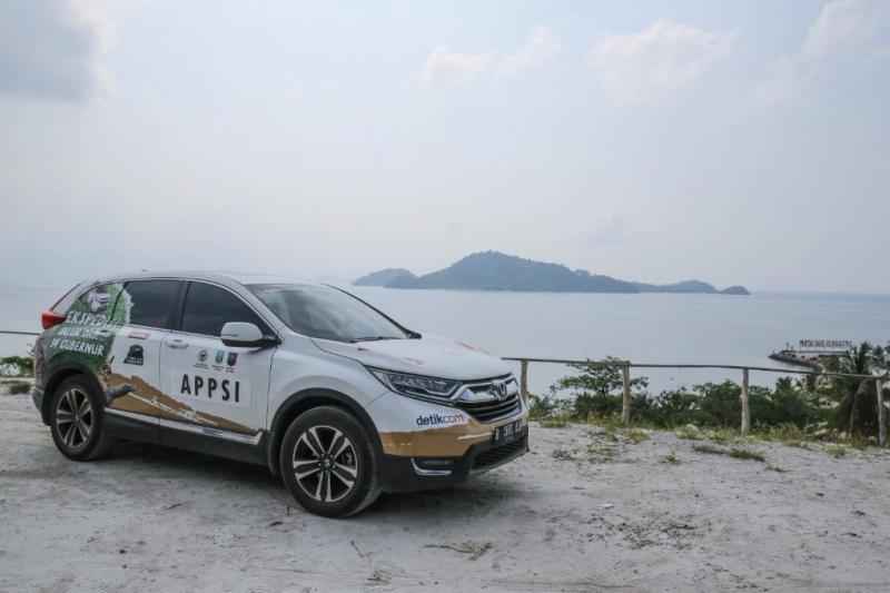 All New Honda CR-V Turbo tiba di Bandar Lampung menempuh ribuan kilometer dari Banda Aceh. (foto: HPM)