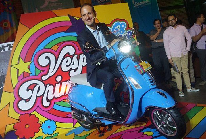 Vespa Primavera 50th Anniversary dibanderol Rp 42 Juta