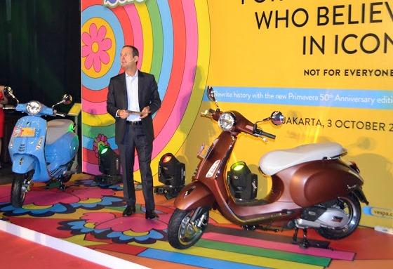 Piaggio Indonesia luncurkan Vespa Primavera 50th Anniversary