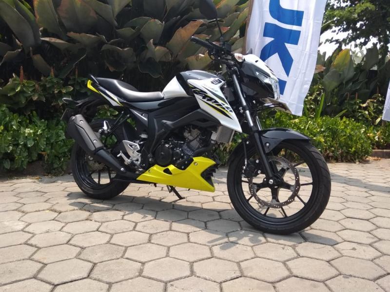 Suzuki GSX150 Bandit jadi pilihan menarik di segmen motor sport touring. (foto: anto)