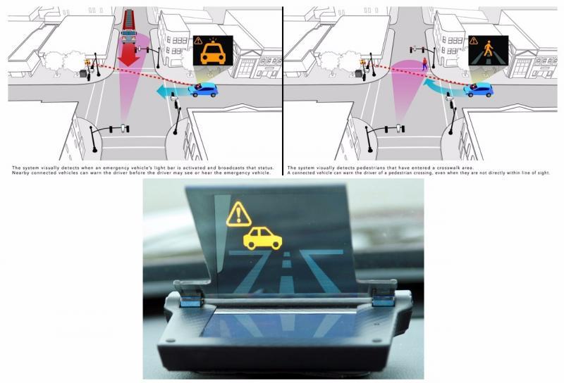 Teknologi Smart Intersection Honda melibatkan kamera dengan software canggih di persimpangan jalan. (foto: Honda USA)