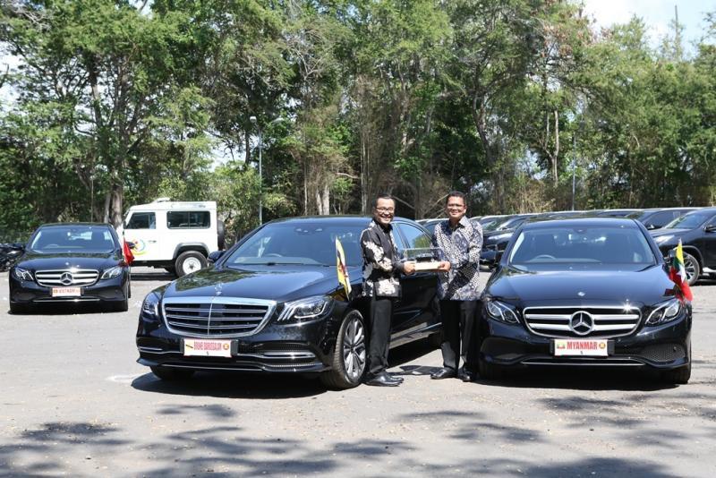 Mercedes-Benz siapkan lini produk sedan premium di Siang Tahunan IMF - World Bank di Bali. (foto: ist)