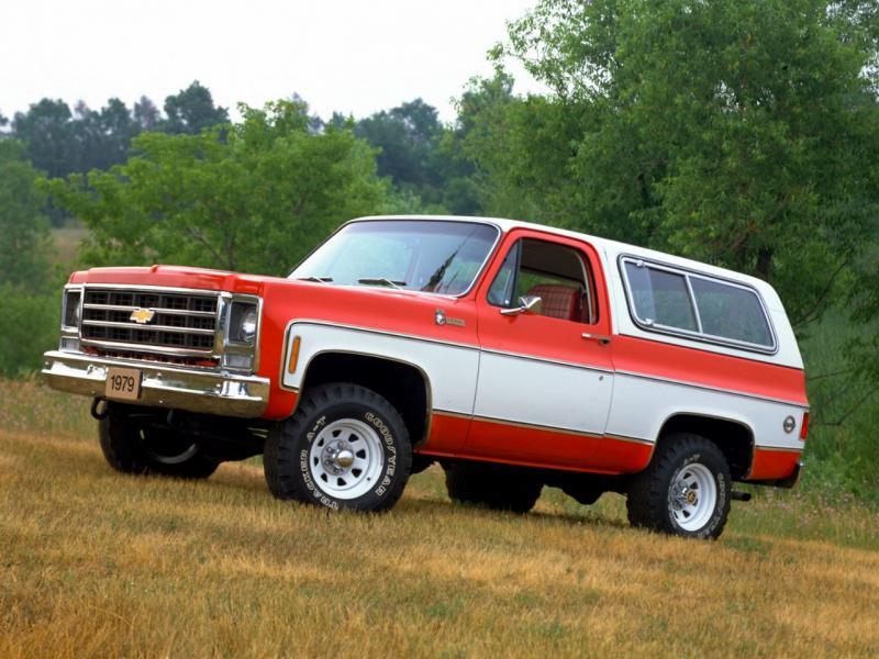 Chevrolet Blazer K5 1982 cikal bakal generasi SUV kompak Chevrolet di Amerika Serikat. (foto: General Motors)