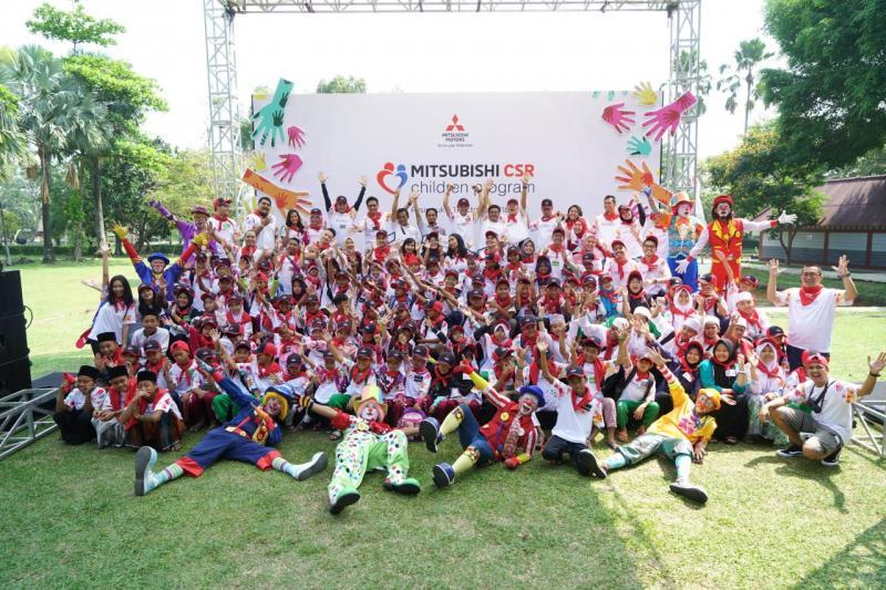 Ini merupakan Children Program yang kedua bagi Mitsubishi Indonesia. (foto: Gian)