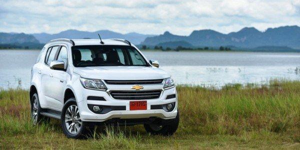 New Chevrolet Trailblazer raih penghargaan sebagai Best Big SUV dari Gridoto. (foto: ist)