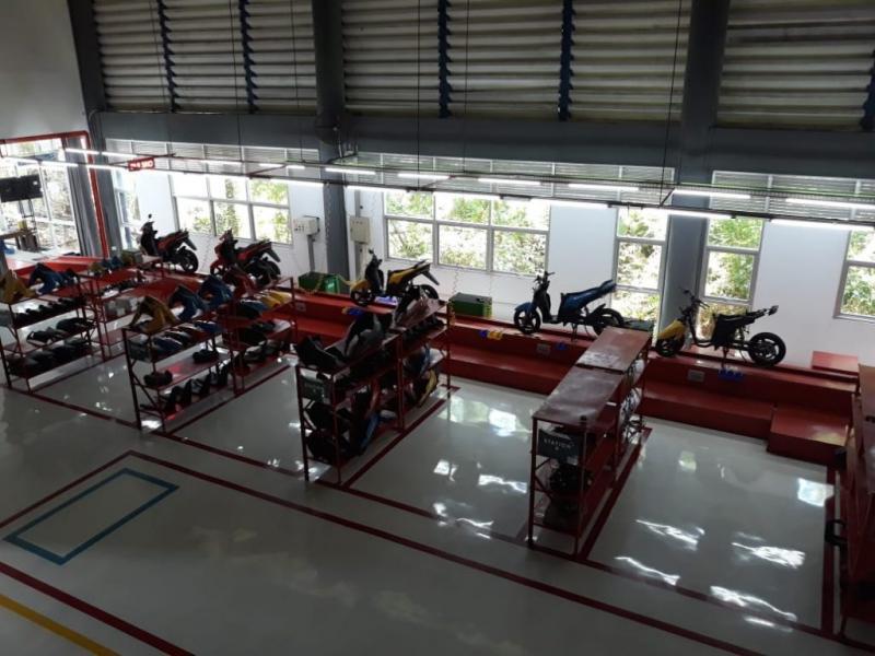 GESITS, motor listrik karya anak bangsa segera meluncur (ist)