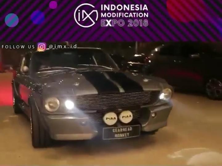 Deretan mobil-mobil American Muscle seperti Chevrolet Camaro, Ford Mustang dan Dodge Charger akan mewarnai IMX 2018. (foto: NMAA)
