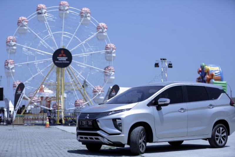 Mitsubishi Xpander siap berbagi kebahagiaan di Kota Medan. (foto: MMKSI)