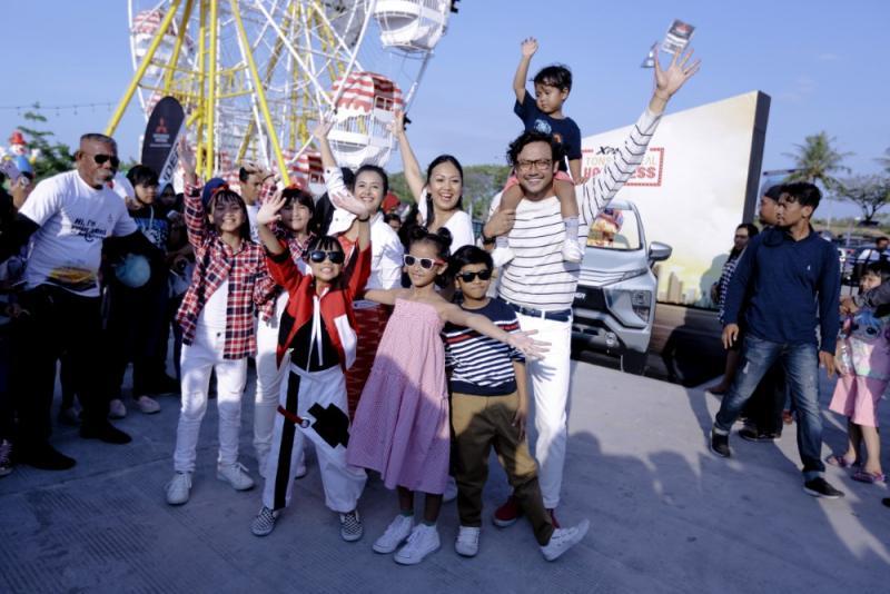 Rangkaian acara Xpander Tons of Real Happiness dipersembahkan untuk kebahagiaan keluarga Indonesia. (foto: ist)