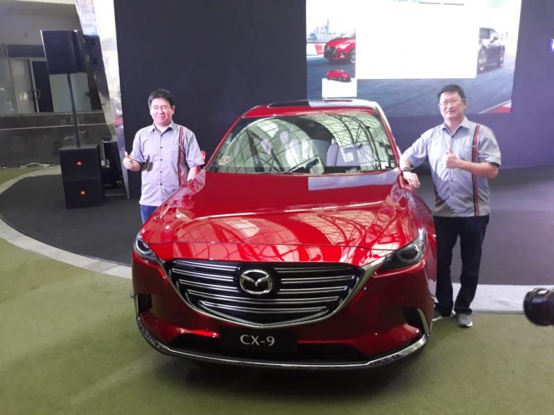 Peluncuran Mazda CX-9 Facelift di Epicentrum, Kuningan, Jakarta Selatan