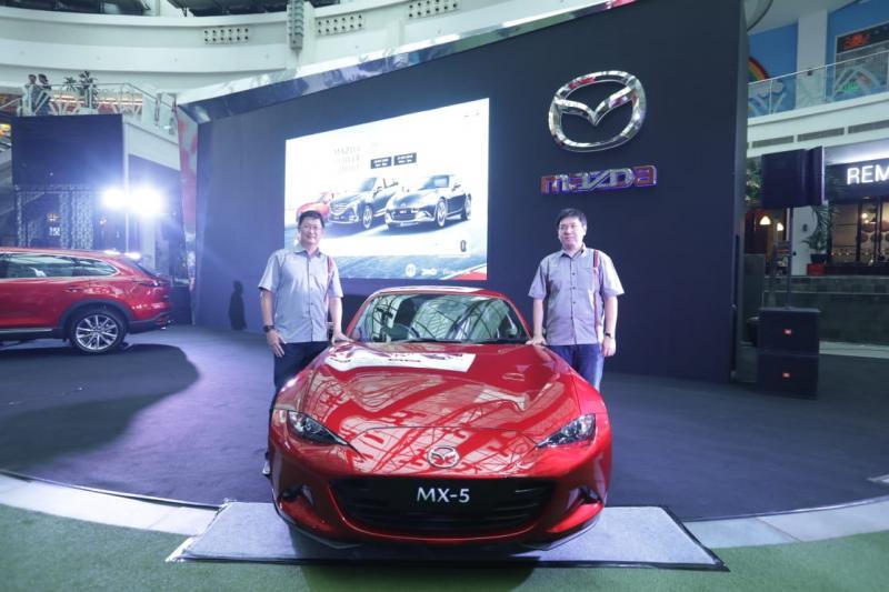 Mazda MX-5 roadster jadi salah satu model yang mengalami penyegaran di Power Drive 2018. (foto: Vita)