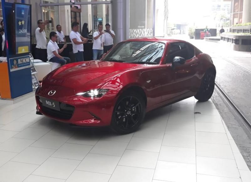 New Mazda MX-5 kini mengusung mesin baru (foto: adri)