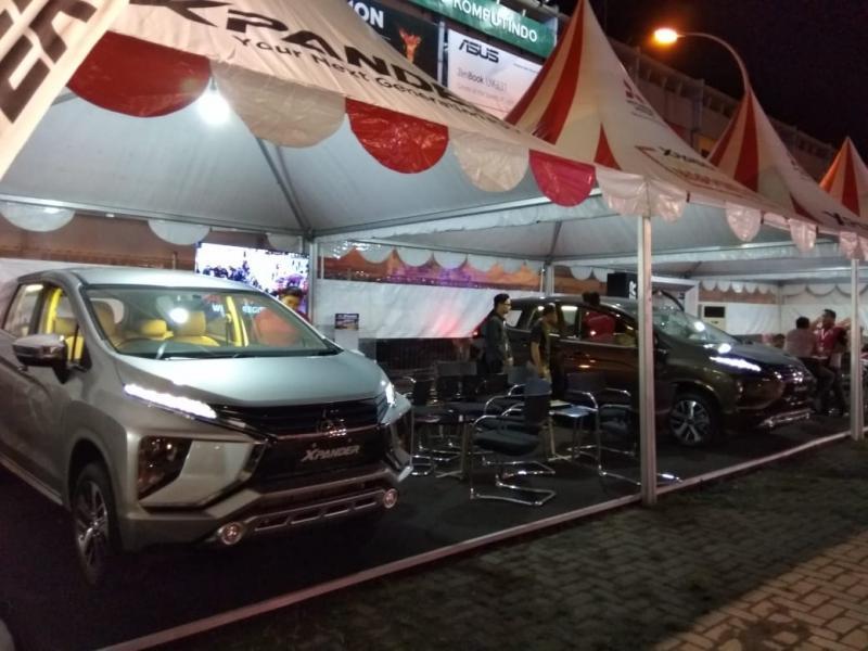 Mitsubishi Xpander bersiap menjadi Market Leader di Sumatera Utara. (foto: anto)