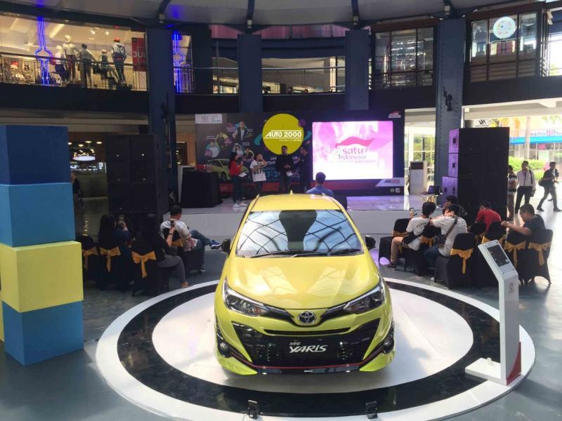 Toyota Yaris, mobil segmen hatchback stylish yang laris manis di Surabaya