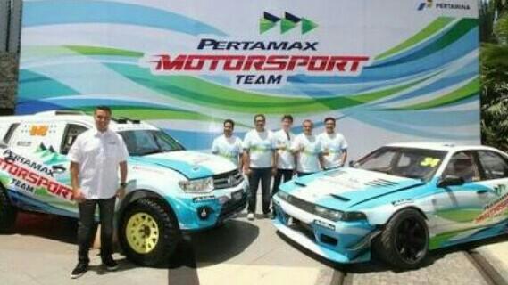Peluncuran tim Pertamax Motorsport 2 tahun lalu di Jakarta. (foto : ist)