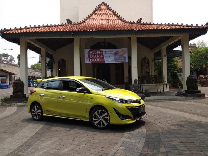 All New Toyota Yaris di Balai Sarwono, cocok dengan segmen wanita dan Lifestyle. (foto: anto)