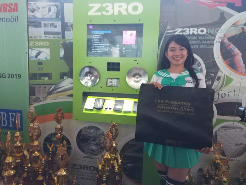 Produk Peredaman Akustik Mobil Z3RO tawarkan kualitas teratas. (foto: ist)