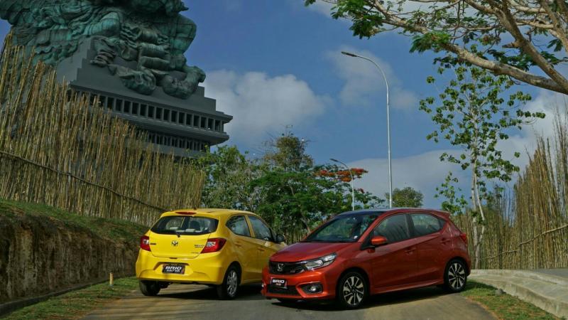 All New Honda Brio cetak penjualan signifikan di Oktober 2018. (foto : hpm)