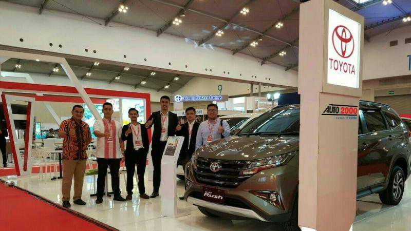 Auto2000 Berani Tampil Beda untuk customer mobil Toyota. (foto : ist)