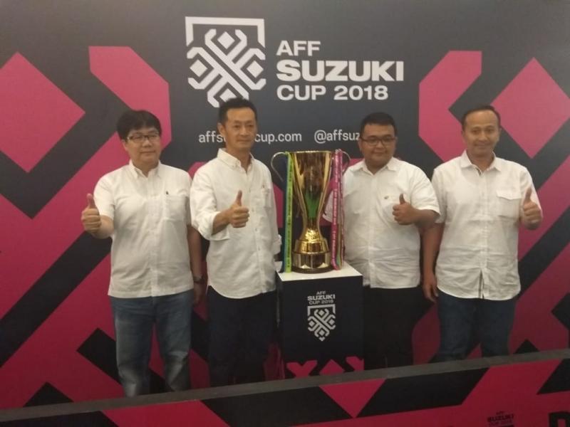 Suzuki konsisten dukung perkembangan olahraga sepak bola di kawasan Asia Tenggara. (foto: anto)