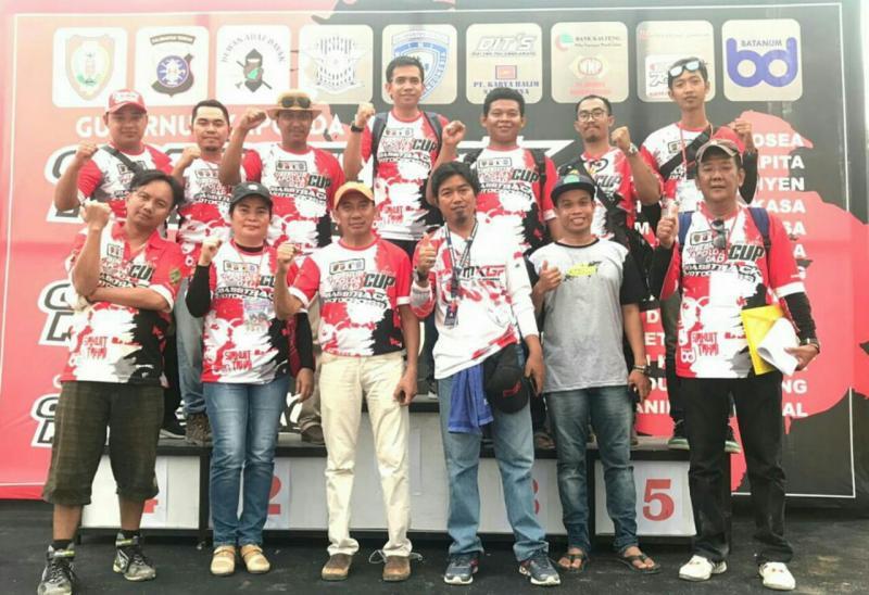 Punggawa Baladewa Batanum telah eksis di motorsport Kalteng. (foto : said)