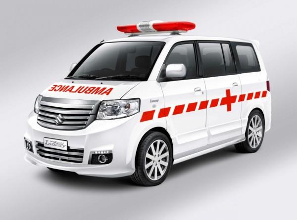 Suzuki APV SGX versi Ambulans VIP punya kabin luas dan dilengkapi alat medis terkini. (foto: PT SIS)